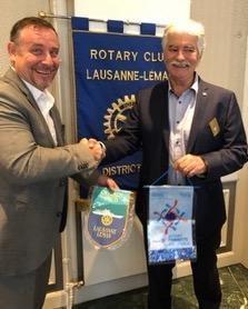 Visite au RC Lausanne-Léman