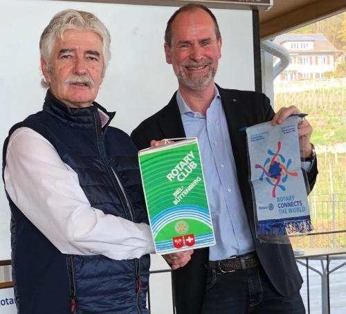 Visite au RC Biel-Büttenberg