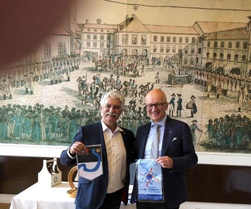 Visite au RC Fribourg Sarine