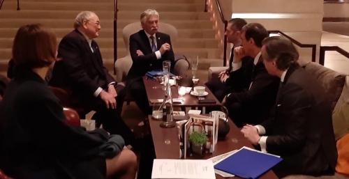 Rencontre à la Genève Internationale