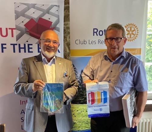 Visite au RC Les Reussilles