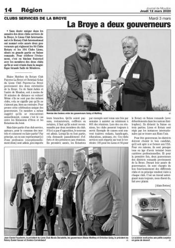 Journal de Moudon ... entre Gouverneurs