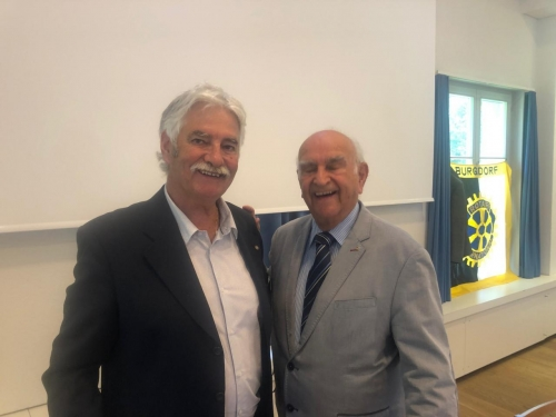 DG Blaise Matthey et PDG Walter Limacher
