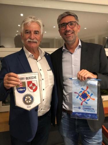 Visite au RC Boudry La Béroche