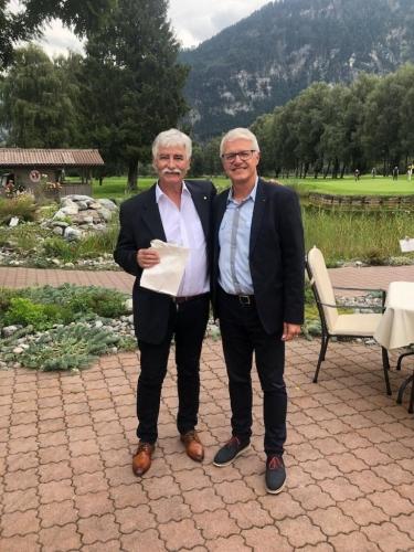 Avec Beat Götz, RC Bern Bubenberg