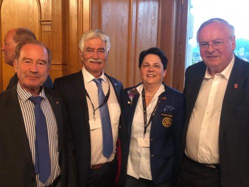Rencontre avec les Parlementaires au Palais Fédéral