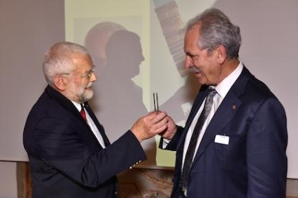 Passation des pouvoirs : Pierre Graden et Yves Tabin