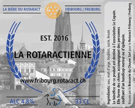 Etiquette officielle de La Rotaractienne 2016