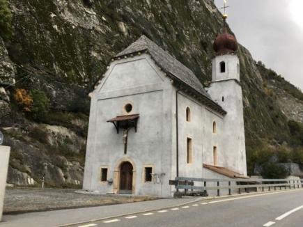 Die Kapelle zen Hohen Flühen.