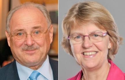 Walter Gyger et Claudine Wyssa