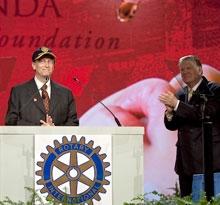 Bill Gates and RI President elect John Kenny